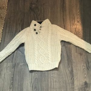 Baby gap cream cable knit size 2T